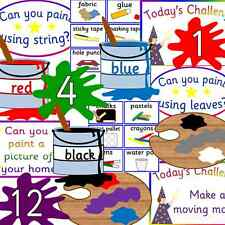 Art display teacher resource on CD - creative/ craft- Expressive arts and design