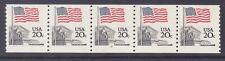 US 1895a MNH 1985 20¢ Flag over Supreme Court PNC 5 Plate #8
