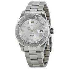 Invicta Angel Silver-tone Dial Stainless Steel Ladies Watch 14320