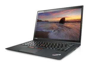 "Lenovo ThinkPad X1 Carbon G4 14"" Core i7-6600u- SSD 256 Go - 8 Go"