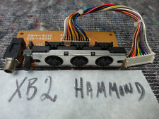 HAMMOND Suzuki XB2 XB XC3 XC Replacement SWH 401A MIDI Board Foot switch card