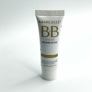 Marcelle BB Cream Golden Glow Skin Enhancer .24oz/ 7ml NEW All Skin Types