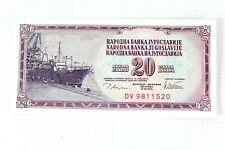 More details for banknote - narodna banka jugoslavvije - 20 dinara - dv 9811520 - 1978 - ehb