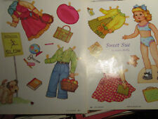 2006 Karen Reilly SWEET SUE Magazine Paper Doll / UNCUT aa