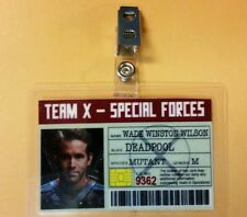 Deadpool ID Badge - Team X Special Forces Wade Wilson cosplay prop costume