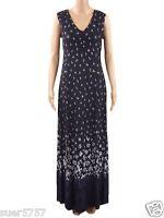 New Ex PER UNA Blue Floral Maxi Dress Size 8 10