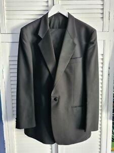 Mens Vintage Black Suit 44