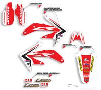 Honda CR85 2003-2007 Gráfico Decal Set Blackbird Racing Motocross
