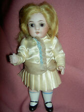 Antique German, all bisque ABG dollhouse doll #83 Princess, excellent condition