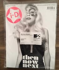 LADY GAGA I-D MAGAZINE 30TH BIRTHDAY ISSUE / PRE-FALL 2010 COLLECTORS