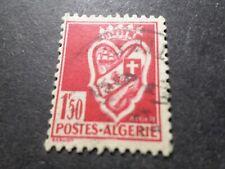 ALGERIE, 1942, timbre 178 oblitéré CACHET ROND, ARMOIRIES ALGER, VF used stamp