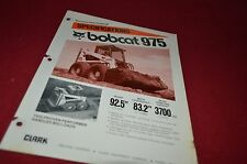 Bobcat 975 Skid Steer Loader Dealers Brochure DCPA2