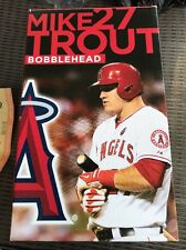 NEW ANGELS MIKE TROUT 2014 BOBBLEHEAD bobble head mlb baseball Anaheim ALL star