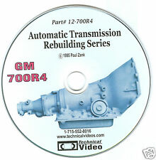 GM 700R4 /4L60 SEE THE TRANSMISSION BEING REBUILT STEP BY STEP