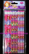 DISNEY SOFIA THE FIRST *12 PCS* PENCILS PARTY FAVORS TREAT SCHOOL SUPPLIES GIFT