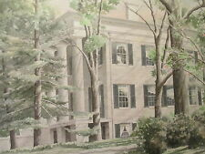 STAN STRICKLAND southern art milledgeville vtg georgia Lockerley hall painting