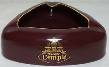 VHTF COLLECTIBLE DIMPLE SCOTCH WHISKY CERAMIC ASHTRAY
