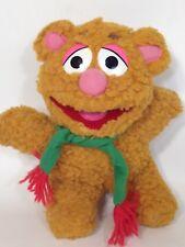 "Muppets Baby Fozzie Bear Plush Vintage 1987 Jim Henson Stuffed Animal 8"""