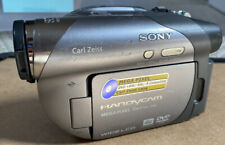 Sony DVD Handycam Camcorder DCR-DVD205 1MP 12x Optical Zoom Camera Only Tested