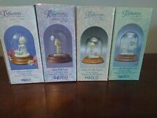 Precious Moments Lot of 4 Miniature Pewter Figurines Nib