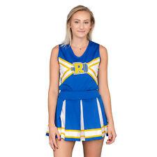 Adult Womens Riverdale Cheerleader V-Neck Tank & Skirt Costume Set