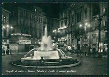 Napoli Città Piazza Trieste e Trento Foto FG cartolina VK2424
