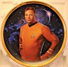 Hamilton Star Trek 25th Anniversary James Kirk Collector Plate No Coa