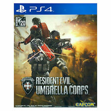 RESIDENT EVIL UMBRELLA CORPS PS4, 2016, Multi-Language Pre-Owned