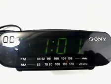 Sony Dream Machine Alarm Clock Radio Am Fm Battery Backup Icf C212