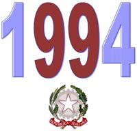 ITALIA Repubblica 1994 Singolo Annata Completa integri MNH ** Tutte le emissioni