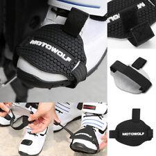 1 x Streifband Motorrad Schuhe Schützen Kupplungshebel Schuhschutz verstellbar