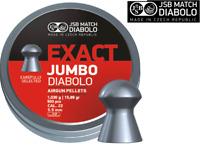 500 X JSB Exact Jumbo Diabolo .22 / 5.52mm Domed Pellets - Full Tin