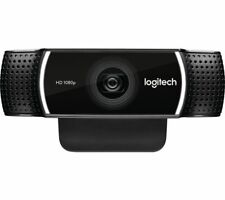 LOGITECH C922 Full HD 1920 x 1080p Webcam - Black - Built-in microphone