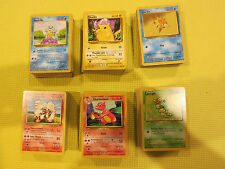 Pokemon Original Base Jungle Fossil Team Rocket 40 Card Common and Uncommon Lot