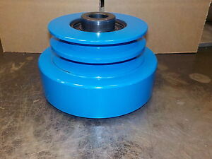 CENTRIFUGAL CLUTCH HEAVY DUTY INDUSTRIAL DOUBLE PULLEY 141 HP 25.4MM BORE