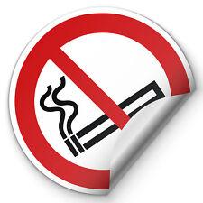 Aufkleber Rauchverbot Rauchen verboten Verbotszeichen ISO7010 P002 SET Schild