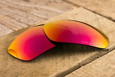 Ruby Red Positive Purple Polarized Mirrored Sunglass Lenses for Oakley Jawbone