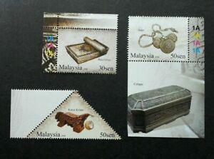 [SJ] Cultural Instruments & Artifacts II Malaysia 2008 (stamp plate) MNH *odd