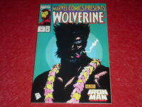 [ Bd Marvel Comics USA] Presents #132-1993 Wolverine / Ghost Rider