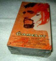 Camelot VHS 2 Tape Set Movie Factory Sealed Winner 3 Academy Awards King Arthur