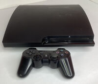 Sony PlayStation 3 Slim PS3 CECH-3001B Console And Controller REPAIR FOR PARTS