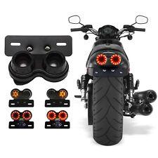 LED Motorcycle Motorbike Rear Tail Light Brake Turn Indicators Lamp Long Life