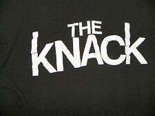 VINTAGE 70'S THE KNACK BLACK 100% COTTON LARGE CONCERT TEE