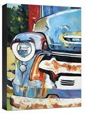 Car Fine Art Reproduction Vintage Automobile Giclee on Canvas Print 30x24