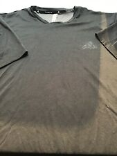 Adidas Climalite Men's Ss Tee Shirt Color Gray Size Xxl. (821)