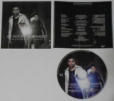 Chino & Nacho  Me Boy Enamorando remix   U.S. promo label cd  hard-to-find