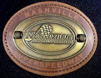 Nashville Superspeedway NASCAR Cap American Needle Adjustable Strap Wool Blend