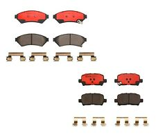 Front and Rear Brembo Brake Pad Set Kit For Pontiac Grand Prix with RPO FE1 FE2