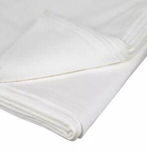 2 X Flannellet Pram Sheets High Quality Bedding Really Soft Cotton 110cm X 85cm