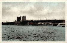 Aalborg Ålborg Den nye Bro Brücke Bridge alte Postkarte ~1940 Danmark Dänemark